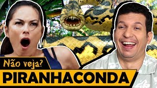 PIRANHACONDA - Os Piores Filmes do Mundo