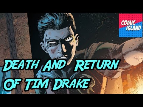 Death And Return Of Tim Drake Red Robin - DC Rebirth