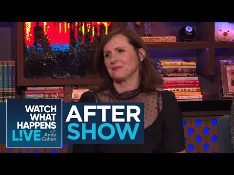 After : Molly Shannon On Luann de Lesseps' Arrest  RHONY  WWHL