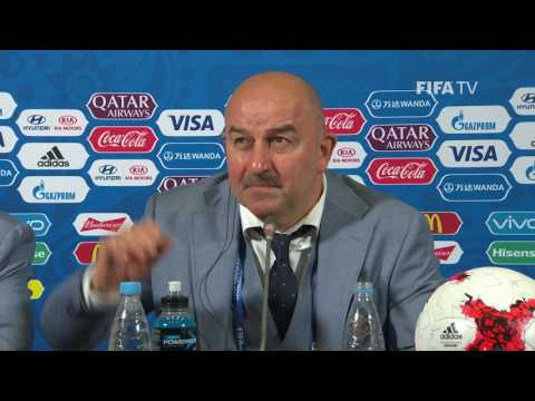 MEX v RUS - Stanislav Cherchesov - Russia Post-Match Press Conference