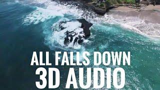 Alan Walker-All Falls Down 8D Audio ( USE HEADPHONES) #AlanWalker #AFD