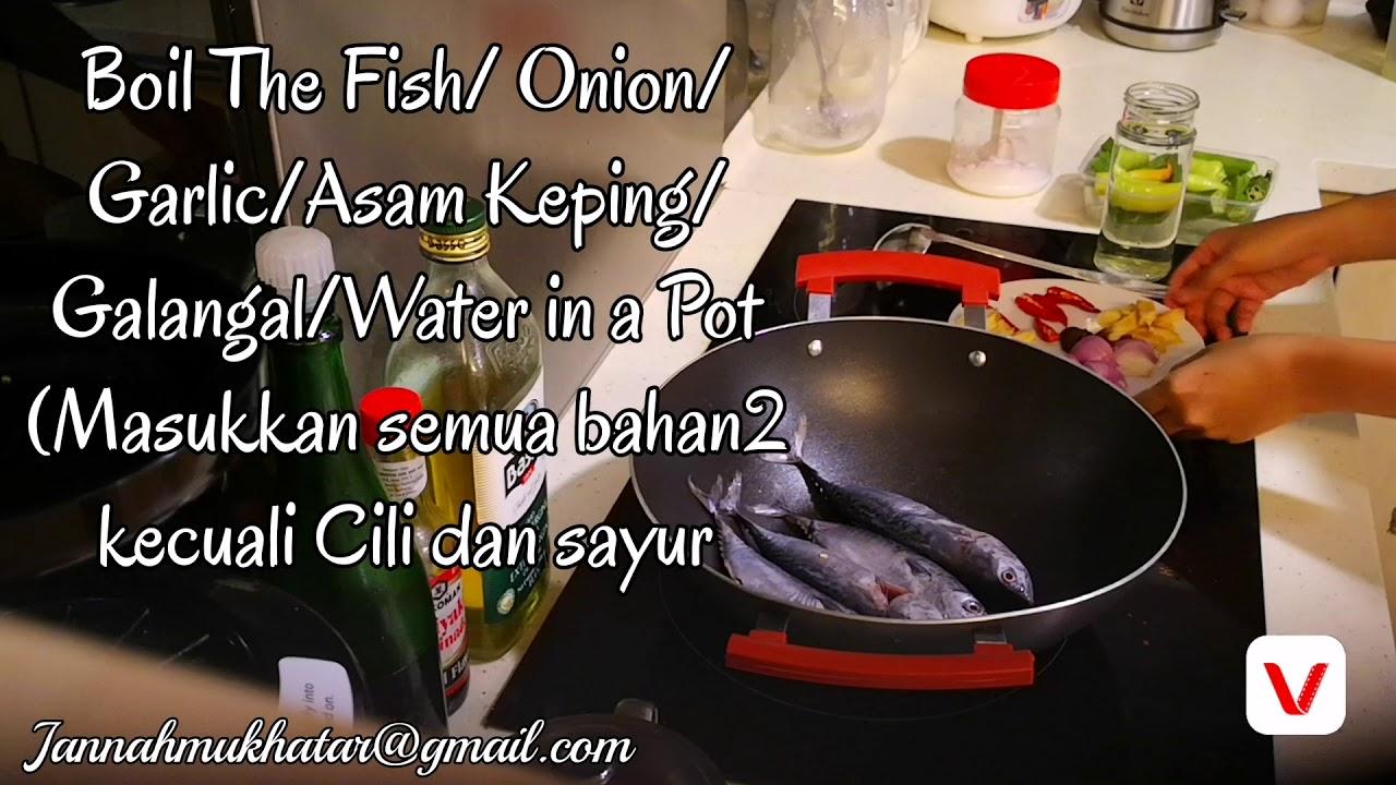 resepi original ikan singgang kelantan sedap  mudah youtube Resepi Singgang Ikan Belanak Enak dan Mudah
