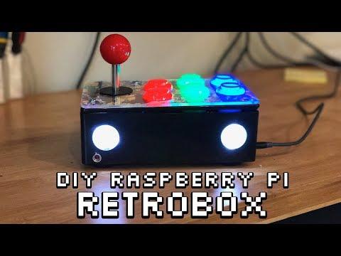 Retrobox: DIY Raspberry Pi all-on-one arcade joystick (full build guide)
