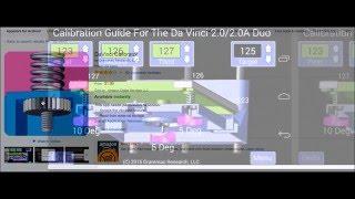 XYZ Printing Da vinci 3D Printers - DaVinci Calibrator