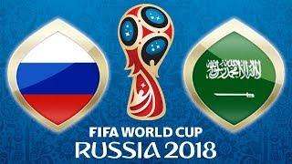 Fussball WM 2018 · Russland - Saudi-Arabien · 14.06.2018 · Moskau · Lets Play Fifa 18 WM PS4 #01