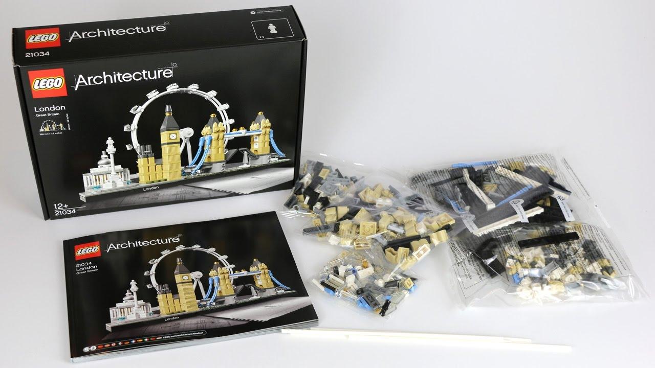 Lego Architecture London 21034 Ausgepackt Unboxing Und Anleitung