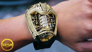 10 นาฬิกาหรูและแปลกที่สุดจนไม่น่าเชื่อว่าจะมีอยู่จริง (โคตรแพง)