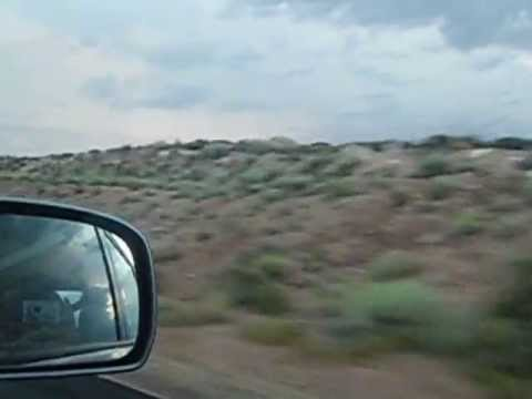 What It's Like: Driving Thru the Navajo Indian Reservation at Dusk