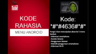 Kode Rahasia Android Buat Servis HP Lengkap - Rahasia ID Mp3