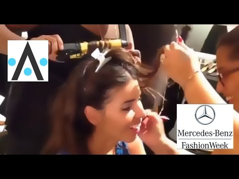 Backstage at Miami Swim: Mercedes Benz Fashion Week Miami 2014