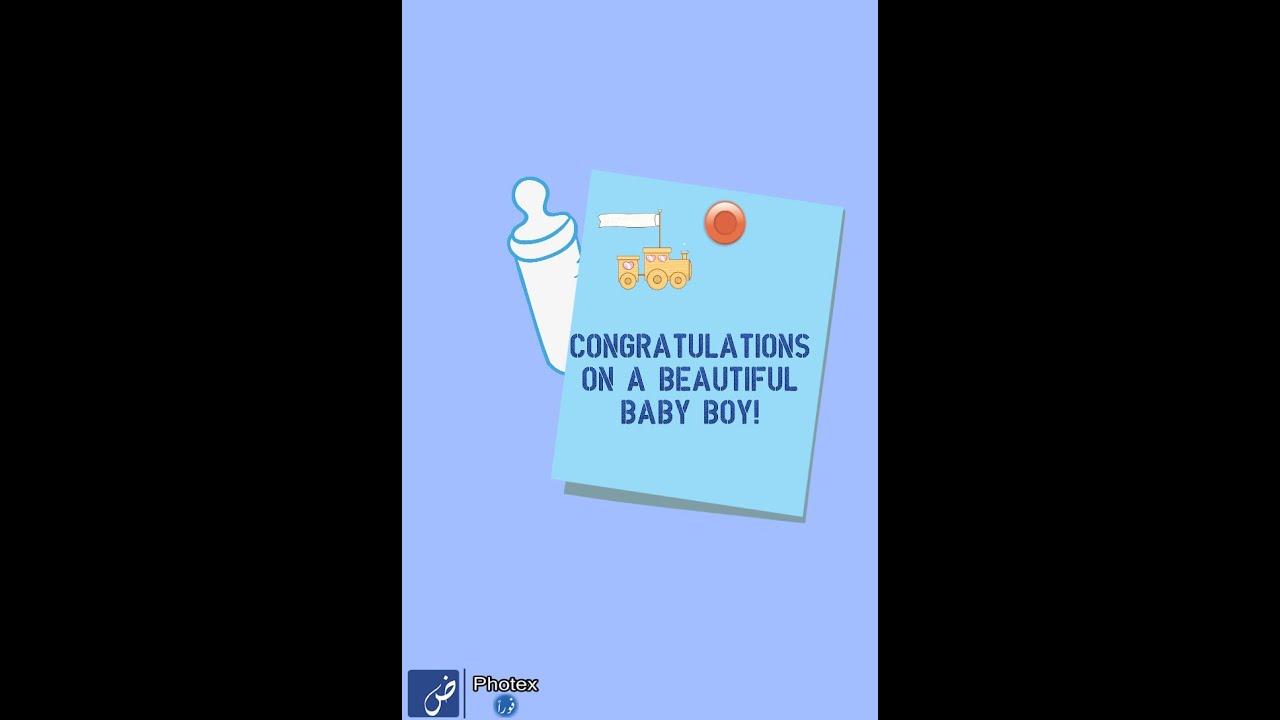 Congratulations on newborn baby boy - YouTube - congratulation for the baby boy