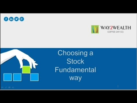 How to Choose Stocks using Fundamental Analysis
