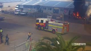 Rockingham Explosion | 9 News Perth