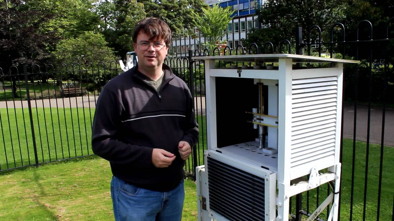 Backyard Weather Station 130 years of weston park weather station - youtube