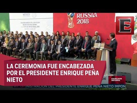 Abanderamiento de la Selección Mexicana de Futbol rumbo a Rusia 2018