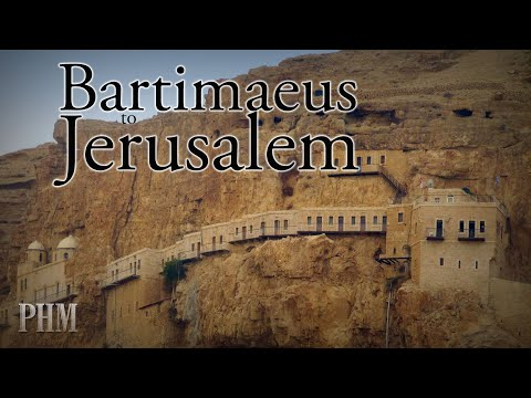 Bartimaeus to Jerusalem - by Daniel Mesa