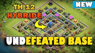 Clash Of Clans - TOWN HALL 12 (TH12) BASE w/Hybride ✅ Trophy Base / War Base / Troll Bases 2018
