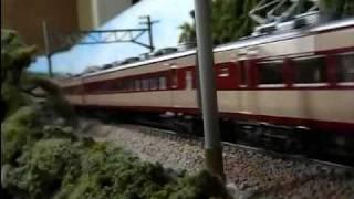 花月園 ef58青大将 157系 c62ニセコ 通過 ho trains