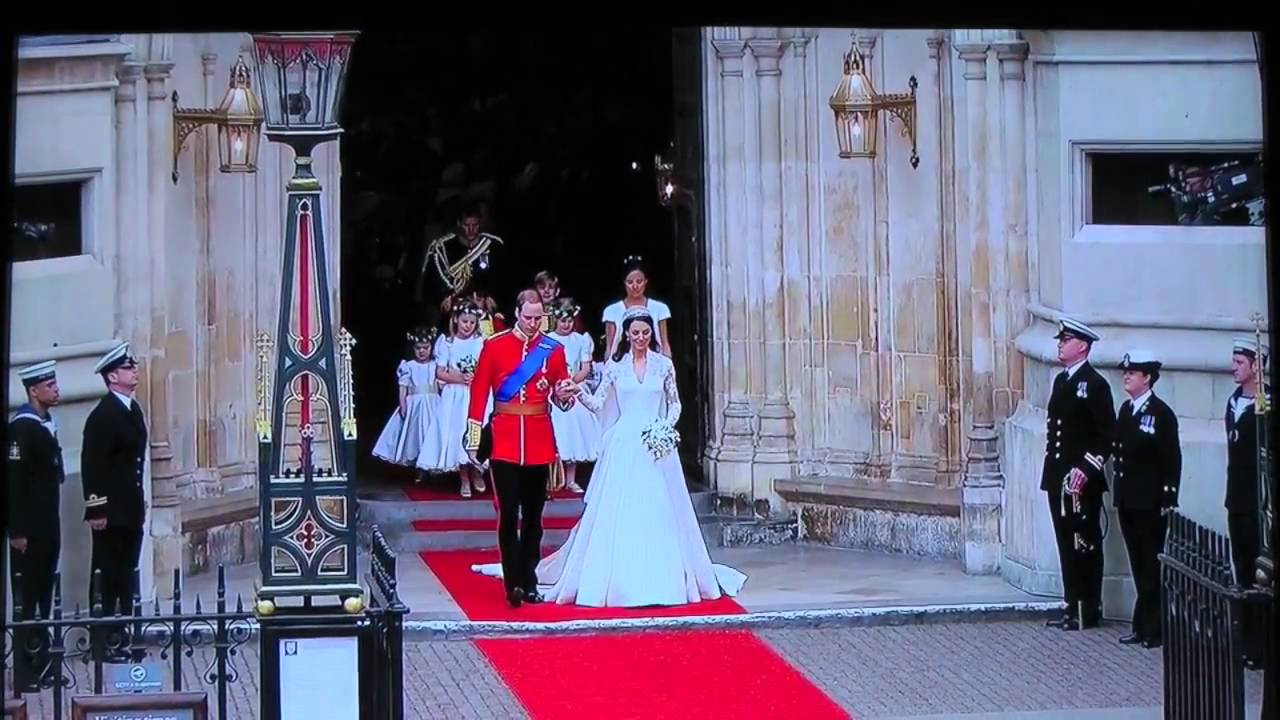 Royal Wedding 2017 William Kate Leave Westminster Abbey Hd