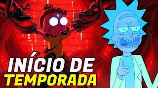 RICK AND MORTY | EPISÓDIO 4X1 | Análise E Easter Eggs
