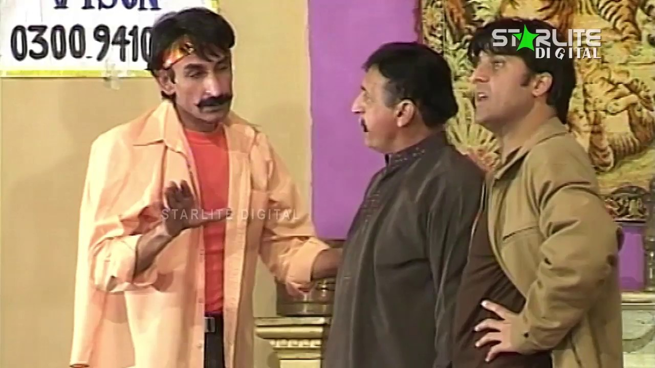 Iftikhar Thakur, Mastana and Anwar Ali New Pakistani Stage Drama Full Comedy Clip | Pk Mast