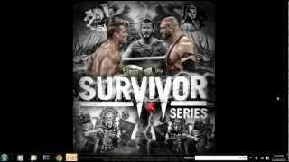 WWE Survivor Series 2012 FULL SHOW