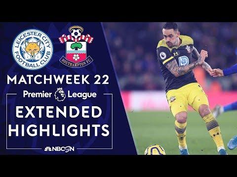 Leicester City v. Southampton   PREMIER LEAGUE HIGHLIGHTS   1/11/2020   NBC Sports