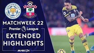 Leicester City v Southampton  PREMIER LEAGUE HIGHLIGHTS  1112020  NBC Sports