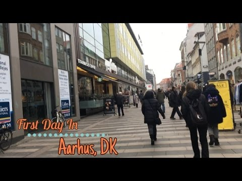 Trip to Denmark + My first day in Aarhus | K Tots