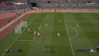 FIFA 15 - AS Roma vs FC Bayern Munich Gameplay (PC HD) [1080p]