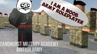 Raiding Army Roleplayers! || ROBLOX