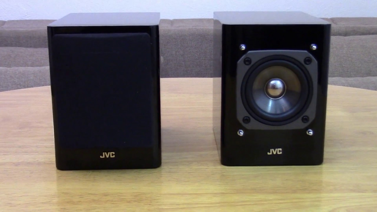 JVC SP-UXMD9000 Metal injected Hyper Neo Olefin drivers - YouTube