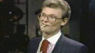 Multiple Cigarette Eating Guy! Tom Mullica - Holy Smokes!