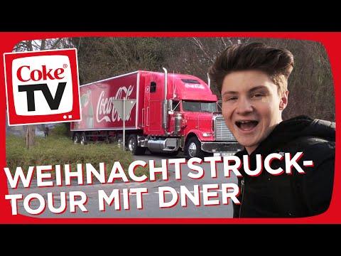 Sturmwaffel & Dner reisen mit dem Coca-Cola Weihnachstruck zu den Sternen | #CokeTVMoment