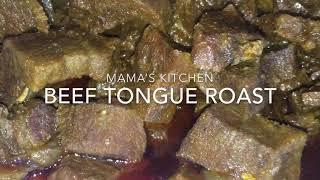 How To Make BEEF TONGUE ROAST