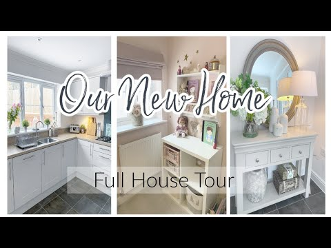 NEW HOUSE TOUR 2021 | TAKE A LOOK AROUND OUR NEW HOME | New Build Home | House Vlog