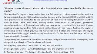 Field-Erected Cooling Tower Market Complete Overview