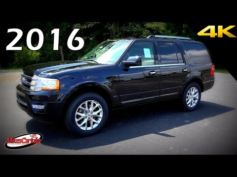 2016 Ford Expedition Limited - Ultimate In-Depth Look in 4K