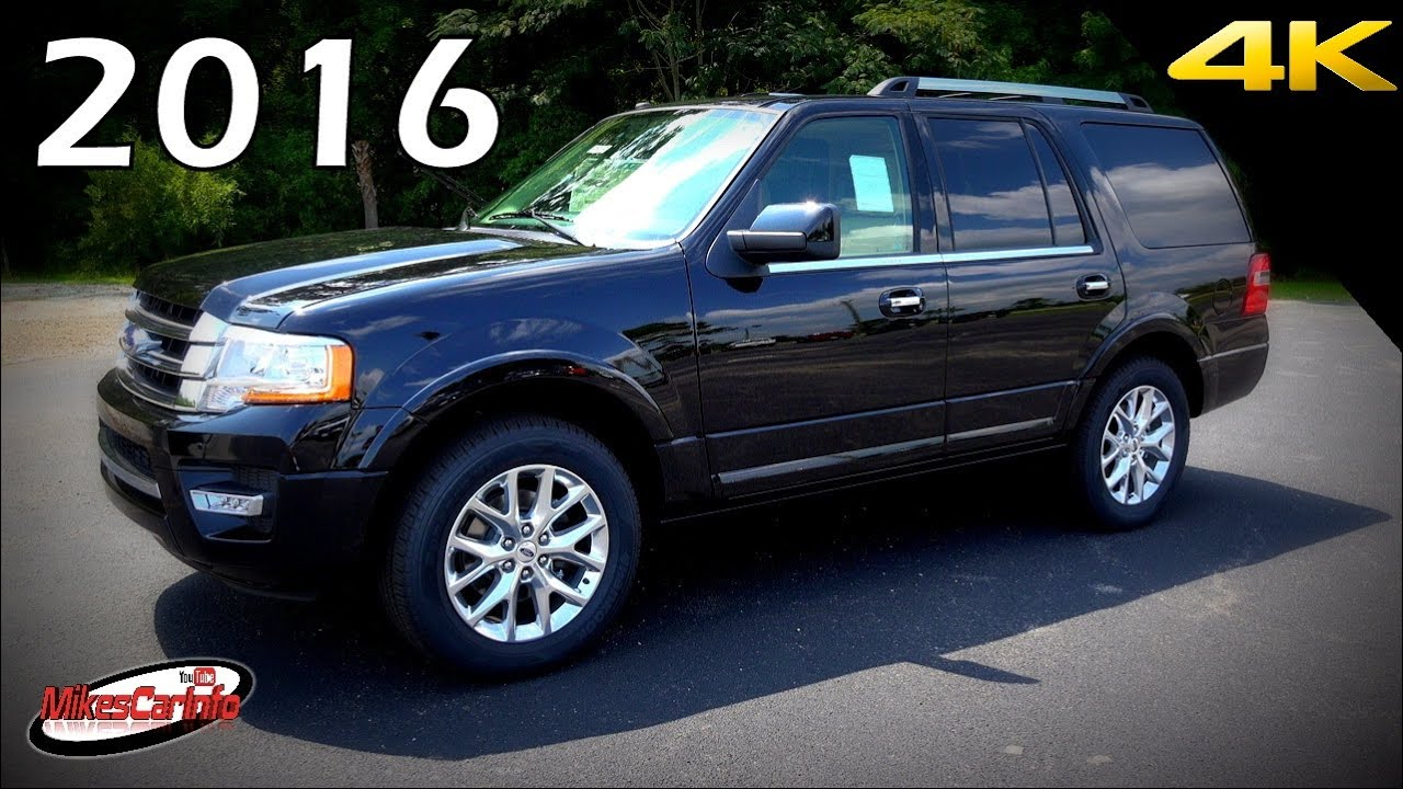 2016 ford expedition limited ultimate in depth look in 4k youtube. Black Bedroom Furniture Sets. Home Design Ideas