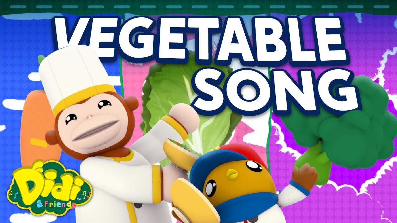 Vegetables | Fun Family Song | Didi & Friends Song for Children