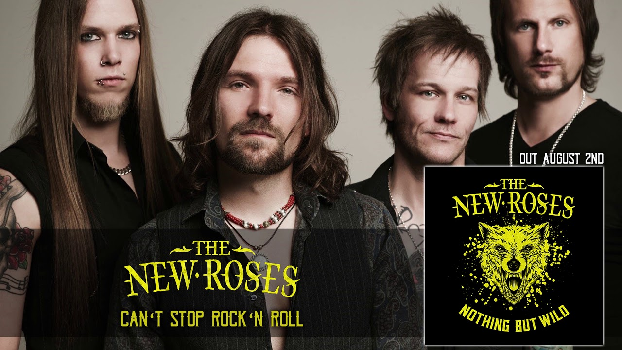 THE NEW ROSES — Can't Stop Rock'n Roll (Official Audio) | Napalm Records