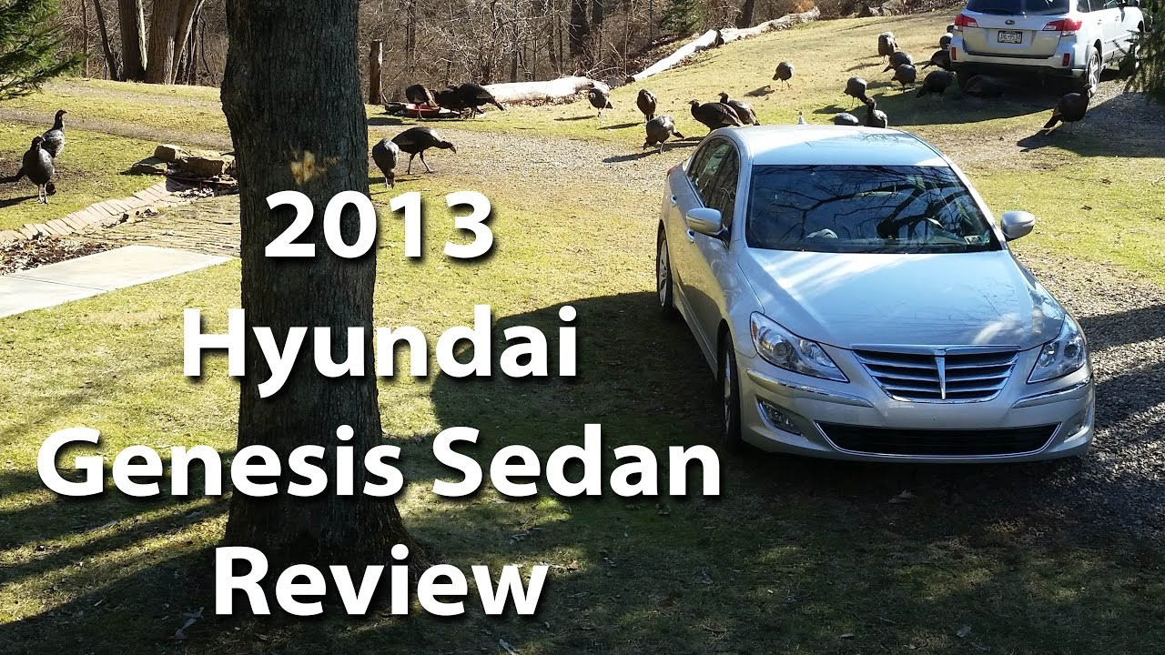 Exceptional 2013 Hyundai Genesis Sedan Enthusiast Review