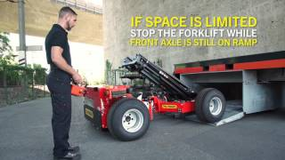 PALFINGER Service - Truck Mounted Forklift BM Operator Video (English, deutsche Untertitel)