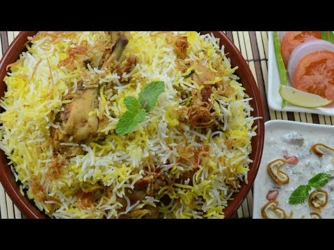 hyderabadi fried chicken biryani recipe