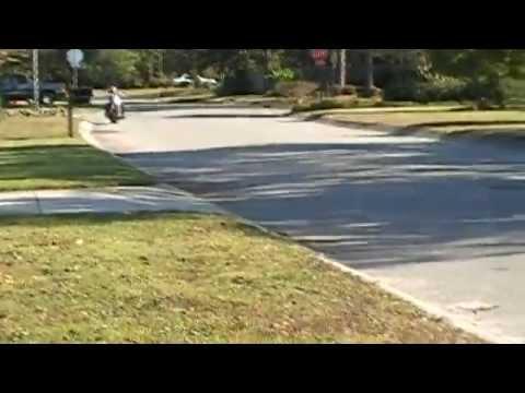 Honda Motorcycle loud exhaust flyby!!!