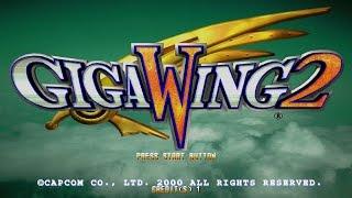 Giga Wing 2 - Arcade Shooter (Sega Naomi 2000) - Full Playthrough!
