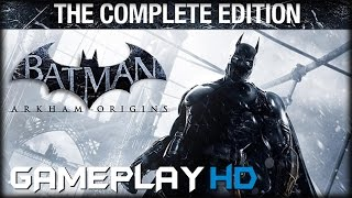 Batman Arkham Origins - The Complete Edition Gameplay (PC HD)