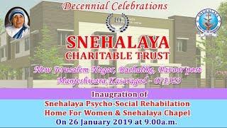 Decennial Celebrations - Snehalaya Charitable Trust