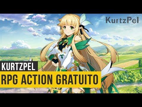 Melhor RPG Online Gratuito? Kurtzpel - Gameplay Do Início