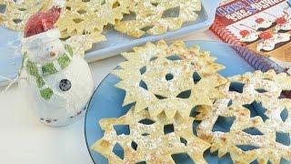 Tortilla Snowflakes - Edible Snowflake Recipe | Radacutlery.com